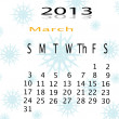 Calender of 2013 — Stock Photo #17629883