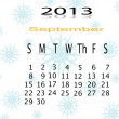 Calender of 2013 — Stock Photo #17643093