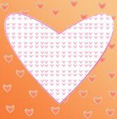 Serca ramki — Zdjęcie stockowe