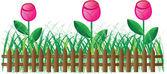 Gräs av ram — Stockvektor