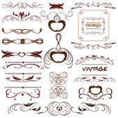 Vector vintage — Stock Vector