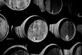 Wine barrels — Stock fotografie