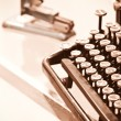 Typewriter — Stock Photo #12821902