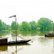 Stock Photo: Boating on Loire