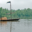 Boating on the Loire — Stock Photo