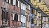Alsace Architecture — Stock Photo