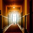 Hotel hallway — Stock Photo