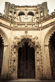 Unfinished church in Batalha, Portugal. — Stock Photo