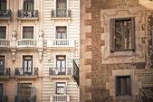 Mediterranean facade — Stock Photo