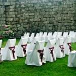 Preparing for a wedding — Stock Photo