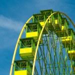 Detail of a ferris wheel — Stock Photo #14121382