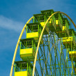 Detail of a ferris wheel — Stock Photo