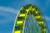 Detail of a ferris wheel — Stock Photo