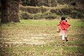 Küçük kırmızı başlıklı kız — Stok fotoğraf