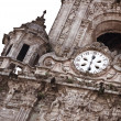 Clock of the cathedral — Stock Photo
