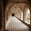 Cloister of Fontevraud — Stock Photo