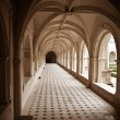 Stock Photo: Cloister of Fontevraud