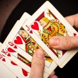 Постер, плакат: Playing cards