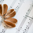 Love and music — Stock Photo #26667803