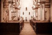 Castell de özerk kilise — Stok fotoğraf