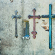 Stock Photo: Three crosses,