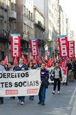 Spanish protest — Stock Photo