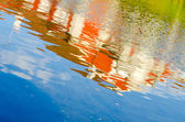 River reflections — Stock Photo