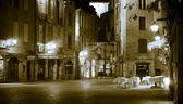 Sarlat at night — Stock Photo