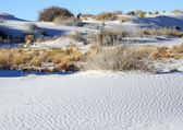 The Flats in the White Sands Memorial Monument — Stock Photo
