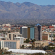 Tucson, Arizona skyline - Stock Photo