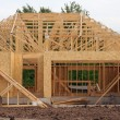New home construction — Foto Stock