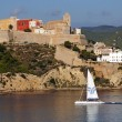 Old city in Ibiza — Stock Photo