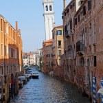 Belltower in Venice Italy — Stock Photo