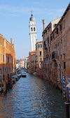 Belltower in Venice Italy — Stock Photo