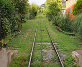 Funicular tracks — Foto Stock