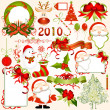 Christmas elements collection — Stock Vector