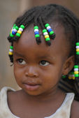 A little girl from Uganda — Stock Photo