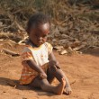 Stock Photo: Africlittle girl
