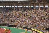 Seat on a stadium tribune — Stock Photo