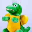 Toy dragon — Stock Photo