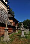 Cemetery monument — Stock Photo