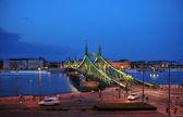 Bridge in Budapest — Stock Photo