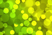 Green blurred bokeh background. — Foto de Stock