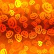 Pumpkin bokeh Halloween background — Stock Photo #13112675