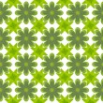 Green leaf flower pattern background — Stock Photo #13427579
