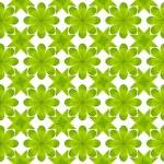 Green leaf flower pattern background — Stock Photo #13429469
