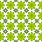 Green leaf flower pattern background — Stock Photo #13434992