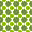 Stock Photo: Green leaf flower pattern background