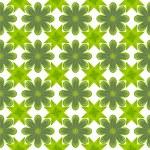 Green leaf flower pattern background — Stock Photo #13435132