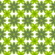 Green leaf flower pattern background — Stock Photo